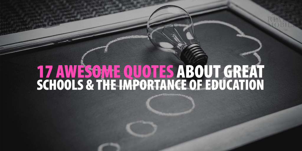 Quotes about the importance of education