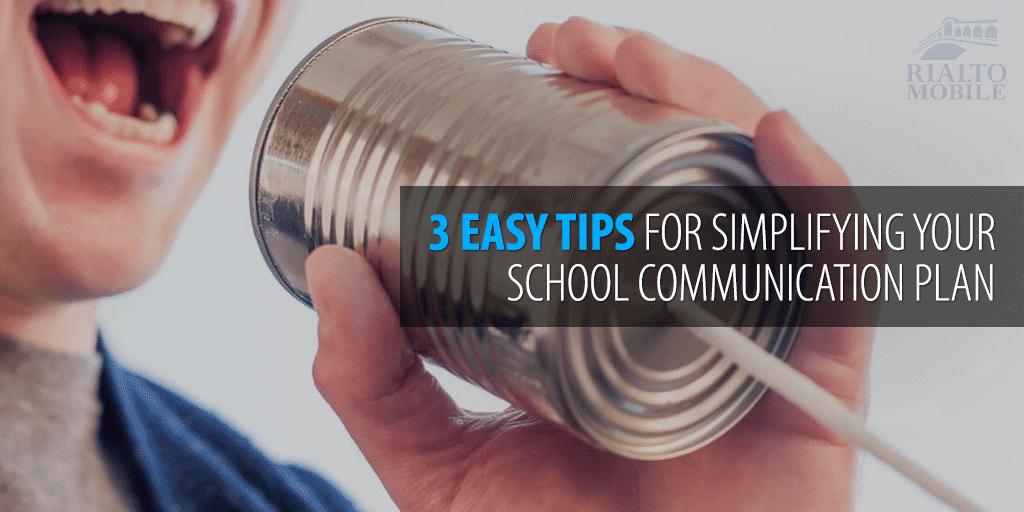 Simplify Your School Communication Plan