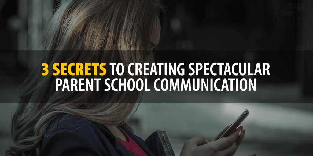 Parent to School Communication