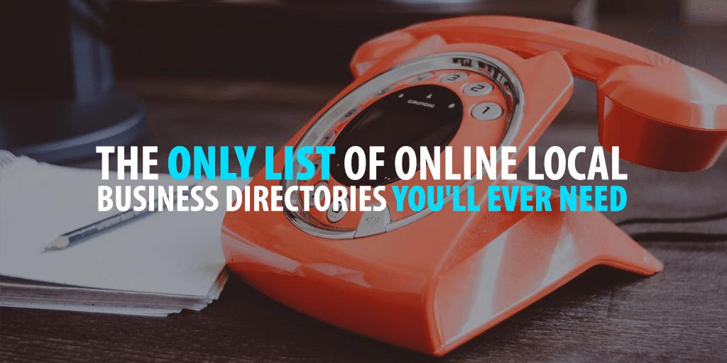 Local Online Business Directories