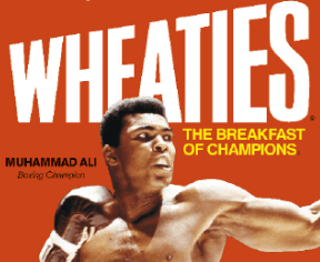 Wheaties' tagline