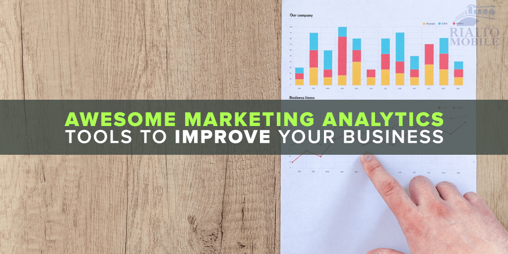 Awesome marketing analytics tools to improve your business