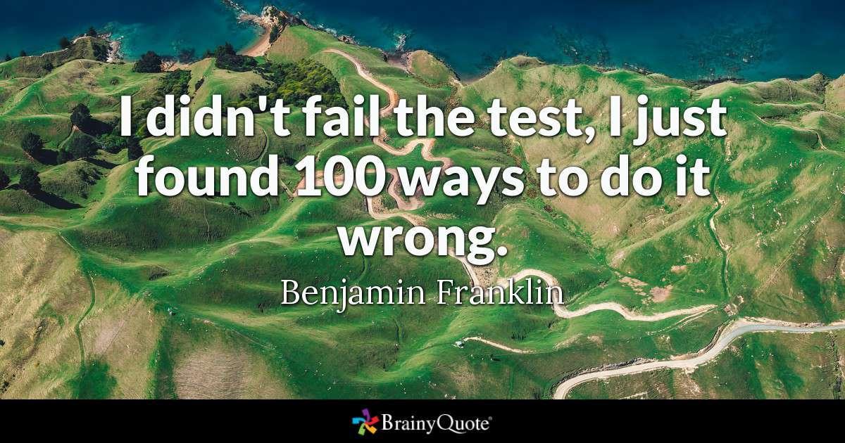 Benjamin Franklin Leadership Quote