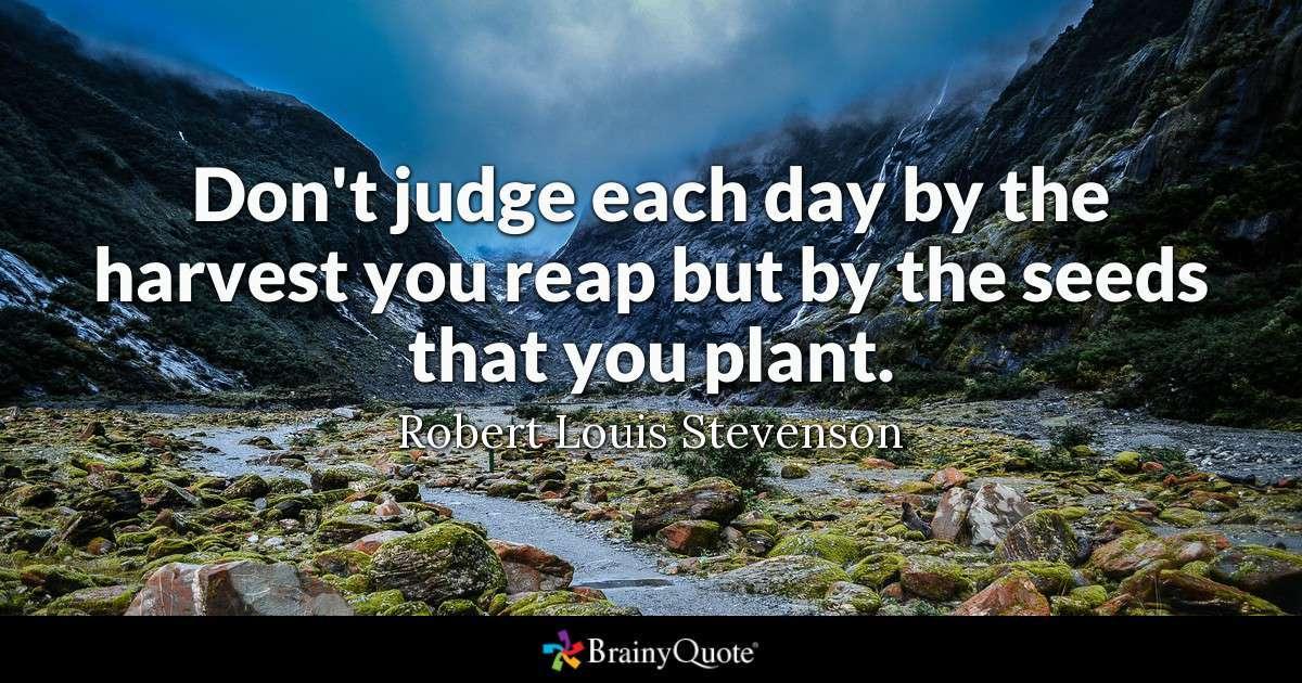 Robert Louis Stevenson Leadership Quote