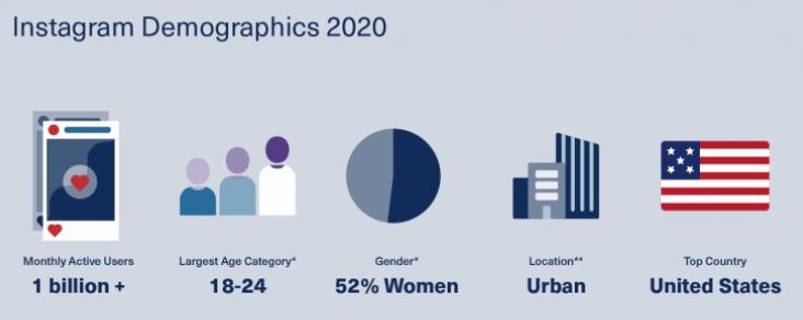 Instagram ad budget - Instagram Demographics