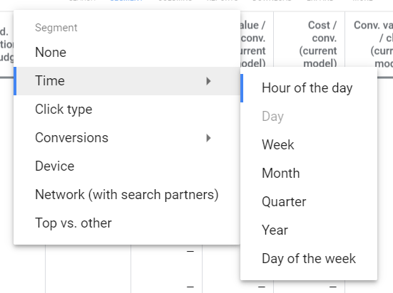 Google ads optimization - Times Of Day Exclusion
